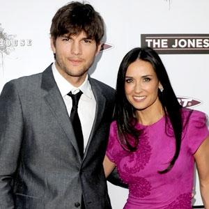 Ashton Kutcher, Demi Moore