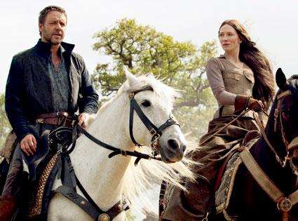 Russell Crowe, Cate Blanchett, Robin Hood