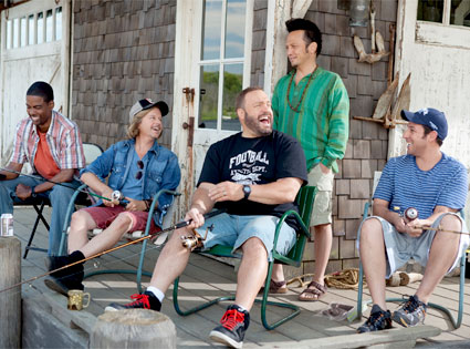 Chris Rock, David Spade, Kevin James, Rob Schneider, Adam Sandler, Grown Ups