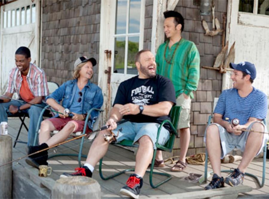 Chris Rock, David Spade, Kevin James, Rob Schneider, Adam Sandler, Grown Ups