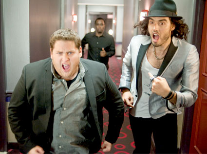 Jonah Hill, Russell Brand, Sean Diddy Combs, Get Him To The Greek