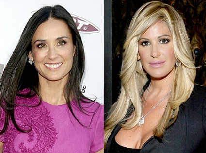 Demi Moore, Kim Zolciak
