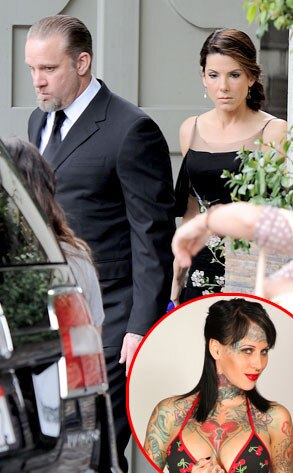 Sandra Bullock, Jesse James, Michelle McGee