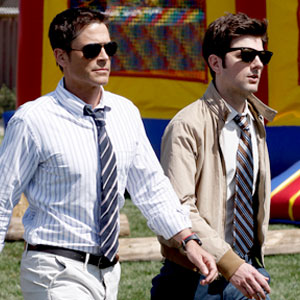 Rob Lowe, Adam Scott, Parks and Recreation