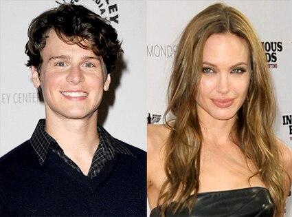 Jonathan Groff, Angelina Jolie