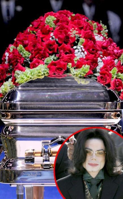 Michael Jackson, Casket