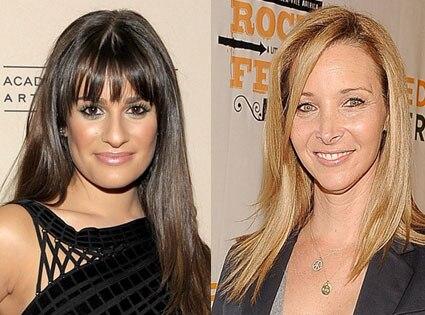 Lea Michele, Lisa Kudrow