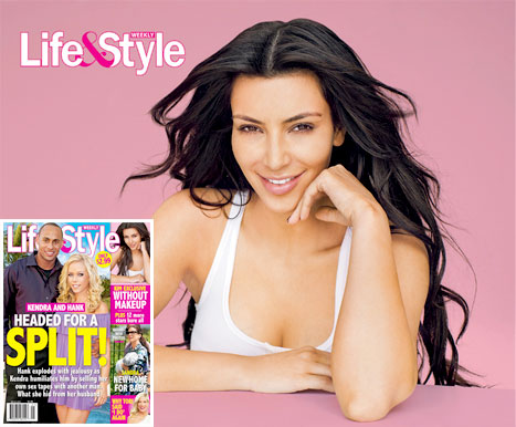 Kim Kardashain, Life and Style, Kendra Wilkinson Baskett, Hank Baskett, Cover