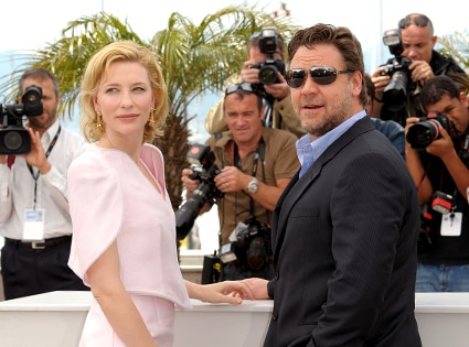 Cate Blanchett, Russell Crowe