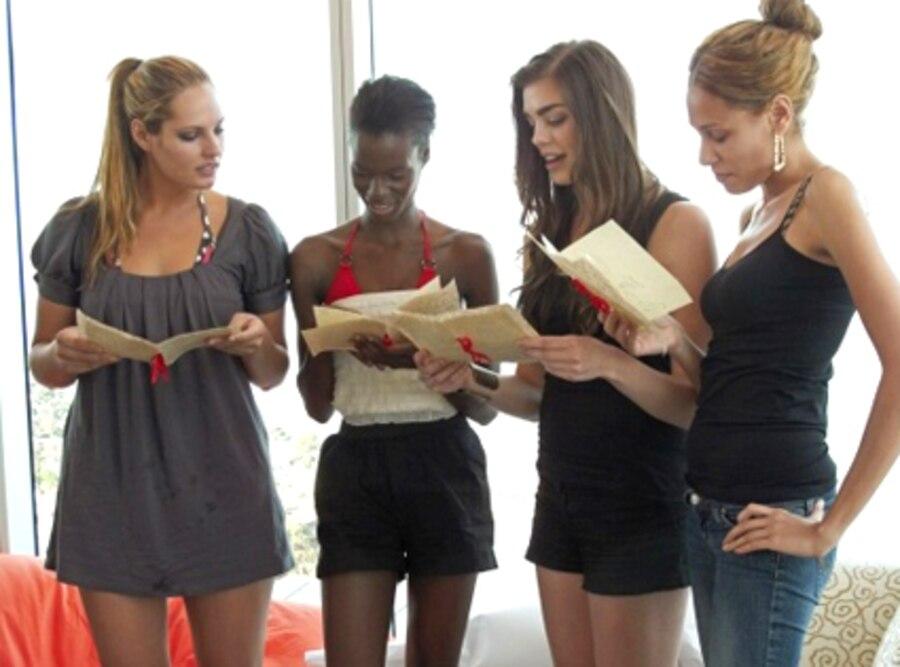 America's Next Top Model, Alexandra Underwood, Krista White, Raina Hein, Angelea Preston