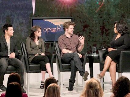 Taylor Lautner, Kristen Stewart, Robert Pattinson, The Oprah Winfrey Show