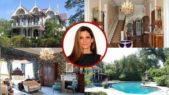 Sandra Bullock, New Orleans Home