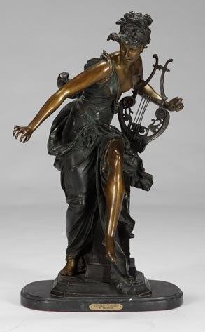 Anna Nicole Auction, Bronze Statue