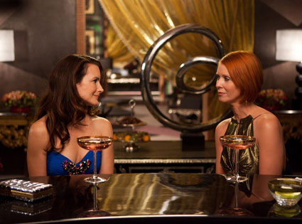 SATC 2, Sex and the City 2 Movie, Kristin Davis, Cynthia Nixon