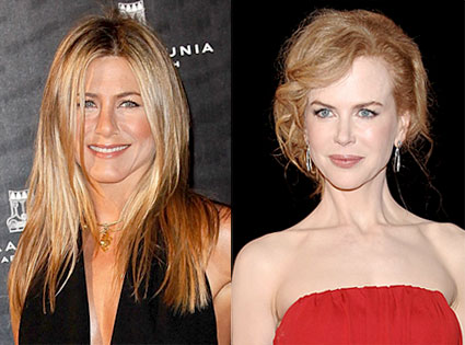 Jennifer Aniston, Nicole Kidman