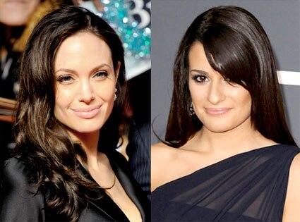 Angelina Jolie, Lea Michele