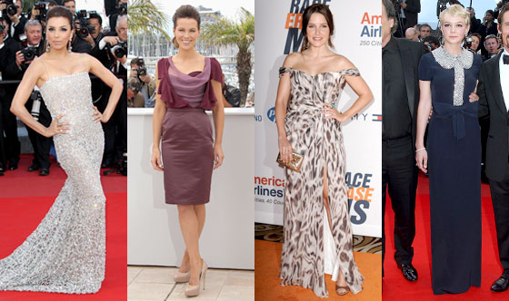 Eva Longoria Parker, Kate Beckinsale, Sophia Bush, Carey Mulligan
