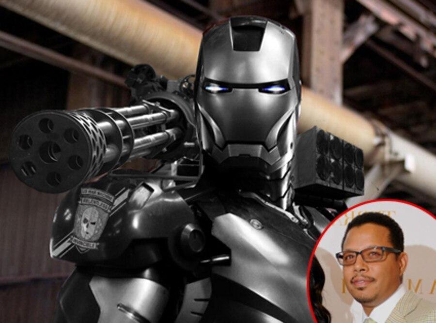 Terrence Howard, Iron Man