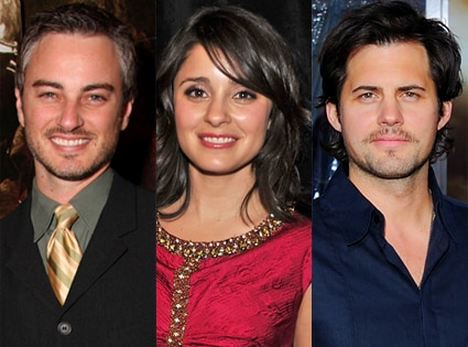 Kerr Smith, Shiri Appleby,  Kristoffer Polaha