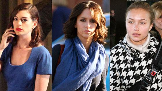 Anne Hathaway, Jennifer Love Hewitt, Hayden Panettiere