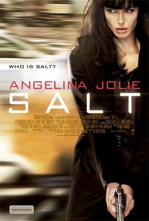 Angelina Jolie, Salt Poster