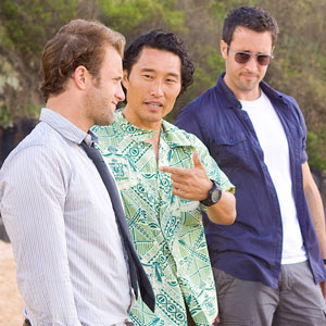 Scott Caan, Daniel Dae Kim, Alex O'Loughlin, Hawaii Five-O