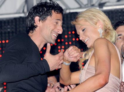 Paris Hilton, Adrien Brody
