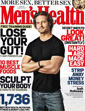 Men's Health, Josh Holloway