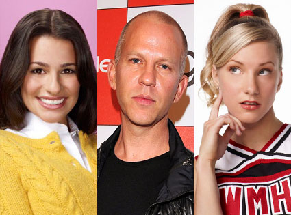 Ryan Murphy, Heather Morris, Lea Michele