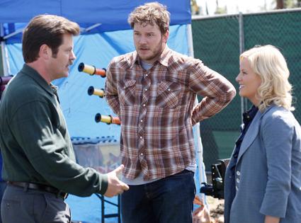 Nick Offerman, Chris Pratt, Amy Poehler, Parks and Recreation