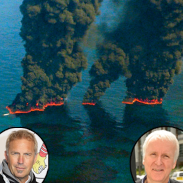 Kevin Costner, James Cameron, Mexico Oil Spill