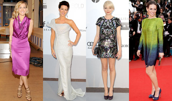 Sarah Jessica Parker, Kate Beckinsale, Michelle Williams, Evangeline Lilly