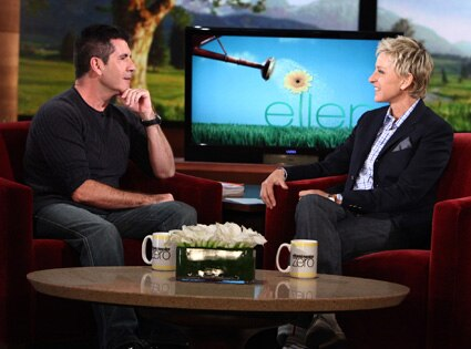Simon Cowell, Ellen DeGeneres