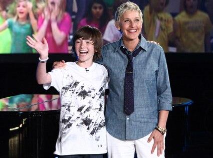 Greyson Chance, Ellen DeGeneres