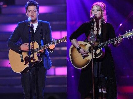 Lee DeWyze, Crystal Bowersox, American Idol