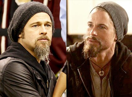 Brad Pitt, Rob Lowe