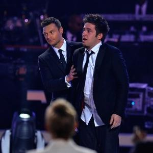 Lee DeWyze, Ryan Seacrest, American Idol