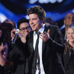 Lee DeWyze, American Idol Finale