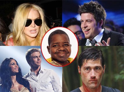 Lindsay Lohan, Nicole Scherzinger, Derek Hough, DWTS, Gary Coleman, Lee DeWyze, Matthew Fox, Lost
