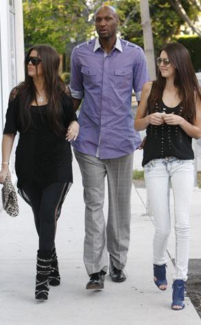 Khloe Kardashian, Lamar Odom,  Kendall Jenner