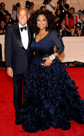Oscar de la Renta, Oprah Winfrey