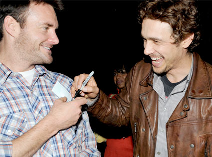 Will Forte, James Franco