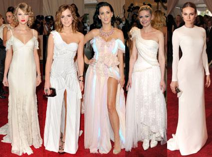 Taylor Swift, Emma Watson, Katy Perry, Kirsten Dunst, Diane Kruger