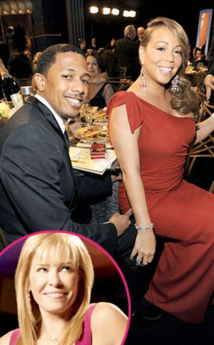 Nick Cannon, Mariah Carey, Chelsea Handler