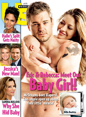 Us Weekly Cover, Eric Dane, Rebecca Gayheart
