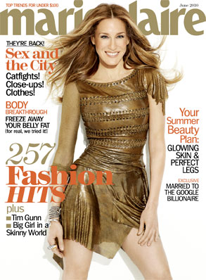 Sarah Jessica Parker, Marie Claire Cover