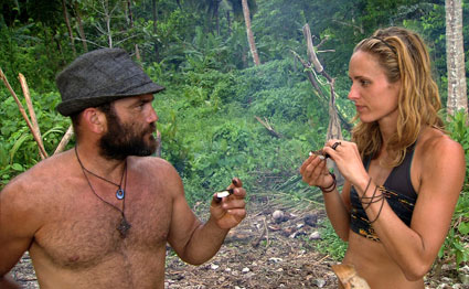 Russell Hantz, Candice Woodcock, SURVIVOR: HEROES VS. VILLAINS