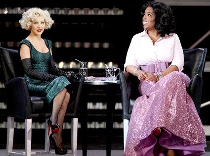 Christina Aguilera, Oprah