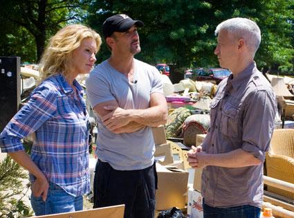 Anderson Cooper, Faith Hill, Tim McGraw