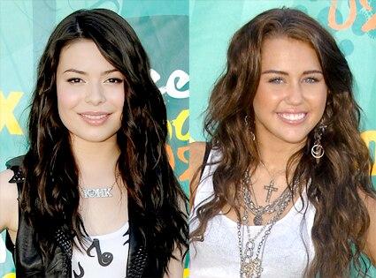 Miranda Cosgrove, Miley Cyrus